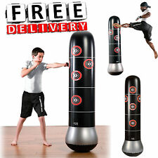 Boxing Mma Bag 5' Target Practice Training Sport Stand Speed Kid Child Punching