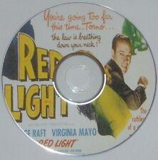 FILM NOIR 152: RED LIGHT 1949 Roy Del Ruth George Raft Virginia Mayo Ray Burr