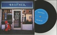 BROTHER New year's Day w/ High Streets LIVE UK 7 INCH Vinyl USA SELLER 2011 MINT