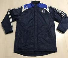 "Chelsea FC Adidas Samsung Coat Football Soccer Size L/ XL  (Pit-Pit 25"")"