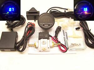 RSR Boost Controller 3bar elektrisch Dampfrad Ladedruckanzeige Boost Gauge Turbo