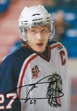 Kyle Baun (Belfast Giants & ex-Chicago) signed colour photograph