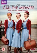 Call The Midwife Series 5 & 2015 Christmas Special BBC DVD 3 Disc Set 2016