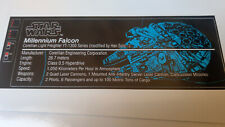 Star Wars Sticker for Lego® 10179 Millennium Falcon Replacement Pre Cut