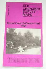 Kensal Green & Queen's park 1894 - Old Ordnance Survey Maps - London