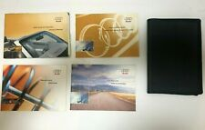 ✅Oem Audi B6 Cabriolet 2003 03 owners manual set guide with case 1.8t & 3.0