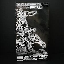 Transformers E-hobby United Autobot Set Hot Rod/Rodimus Kup Scrapheap/Junklheap