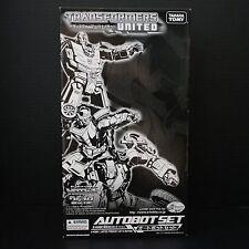 Transformers E-hobby United Autobot Set Hot Rod/Rodimus Kup Scrapheap/Junklheap