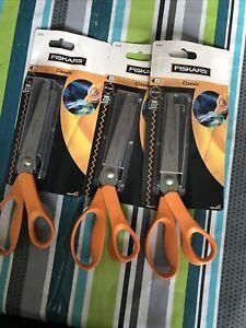 Fiskars Ciseaux cranteurs, Longueur totale: 23 cm, Pour droitiers, Classic, 9445