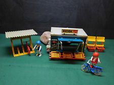 Playmobil ***Rarität*** Kiosk/Fahrradständer 3418-A/1984, ohne OVP!