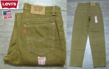 NEW VINTAGE 1990's LEVI'S 550 STUDENT ORANGE TAB DENIM JEANS PANTS USA 28x30