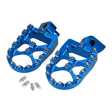 YAMAHA  YZF250  YZF 250  YZ250F 1999-2016  DRC WIDE FOOT PEGS  FOOT RESTS HIGH