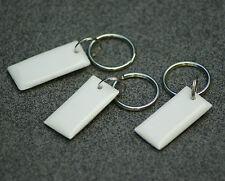 3x NFC Tag mit MIFARE Classic® Chip - keyfob white - Schlüsselanhänger weiß - 1k