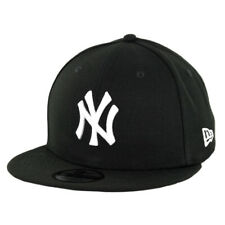 "New Era 950 New York Yankees ""Basic"" Snapback Hat (Black/White) Men's MLB Cap"