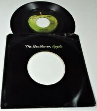 The Beatles- Get Back / Don't Let Me Down – Apple – Capitol Rim Print
