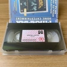 Good Will Hunting VHS Tape New Sealed