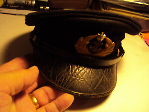 Japanese WW2 Japanese Navy Ensign Visor Hat