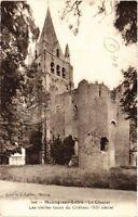 CPA  Meung-sur-Loire - Le Clocher - Les Vieilles tours du Chateau  (632433)