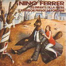 CD single NINO FERRER Les enfants de la patrie + NEUF +