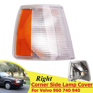 For Volvo 940 960 740 90-95 Right Passenger Side Turn Signal/Corner Light Lenses