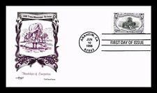 US COVER TRANS-MISSISSIPPI REISSUE HARDSHIPS OF EMIGRATION FDC ARTMASTER CACHET