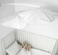 Ikea Himmelsk Bed Crib Canopy, White New Nursing Room