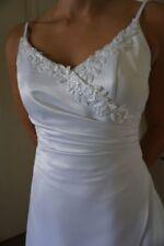 Unbranded Satin Beading Wedding Dresses