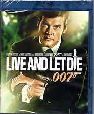 Live and Let Die 007 (Blu-ray Disc, Widescreen) JAMES BOND Roger Moore