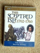 THIS SCEPTRED ISLE  1702 - 1760 - AUDIO BOOKS  - TALKING BOOKS  (2 CASSETTES )