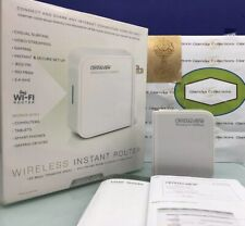 CrystalView Portable Wireless Instant Router, Repeater And Range Extender (G3)