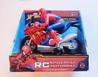 Spiderman Spider-man Motorbike Remote Control RC Boy Gift FREE SHIPPING Ages 8+
