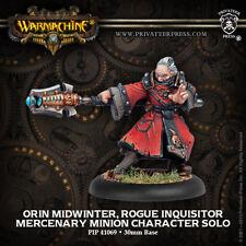 Warmachine: Mercenaries Orin Midwinter, Rogue Inquisitor Minion PIP 41069