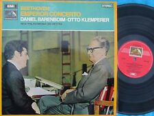 Beethoven: Emperor concerto Barrenboim Klemperer OZ LP NM HMV OASD 2500