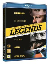 Movies For Sports Fans Box (Senna, Hitting the Apex, I am Ali, Ronaldo..) BluRay