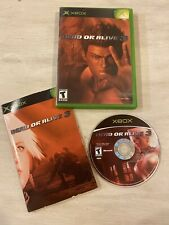 Dead or Alive 3 (Microsoft Xbox, 2001) Complete Tested Fast Shipping