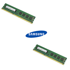 Samsung 8GB Kit (2 x 4GB) DDR3 12800U /1600MHz 1.5V UDIMM PC3 Desktop Memory