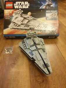 Lego Star Wars Set 8099 Midi-Scale Imperial Star Destroyer 100% complete boxed