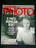 American Photo Magazine 1996 Photojournalism Photography Yul Brynner Perpignan