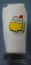 New Masters Golf Souvenir Glass 2000 Vijay Singh wins at Augusta