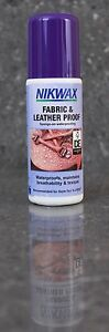 Nikwax Fabric & Leather Proof waterproofing Sponge On 125ml Breathability