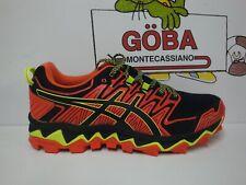 ASICS GEL FujiTrabuco 7 Men's red snapper/black - Scarpe da Trail Running
