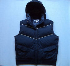 Womens EMS down Vest Sz L hoodie ski snowboard hiking snowmobile camp sled snow