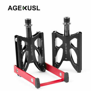 AGEKUSL Bike Pedal With Kickstand For MTB Road Bike Pedals Include Parking Stand