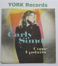 "CARLY SIMON - Come Upstairs - Excellent Con 7"" Single Warner Brothers CARLY 1"
