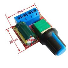 90W PWM DC Motor Speed Control Regulator Module Switch LED Dimmer Board 5A TW