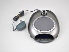 Homedics Sound Spa Projection Soothing Sleep Therapy Alarm Clock Radio Timer
