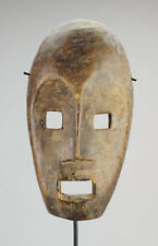 MASQUE KUMU KOMO MASK AFRICAN ART AFRICAIN CONGO BELGE TRIBAL voisins LEGA