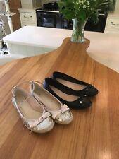 Dorothy Perkins & BLUE ZOO Chaussures Ballet Pumps Noir Taille 5 Excellent cond