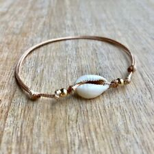 Gold Anklet Cowrie Sea Shell