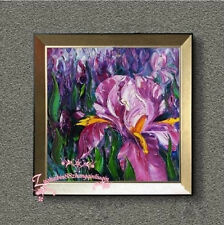 Hand painted Canvas Oil Painting Knife Painting FLOWER NO Frame H15189